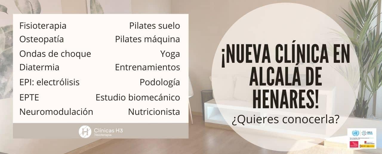 Servicios Clínicas H3 Alcalá de Henares