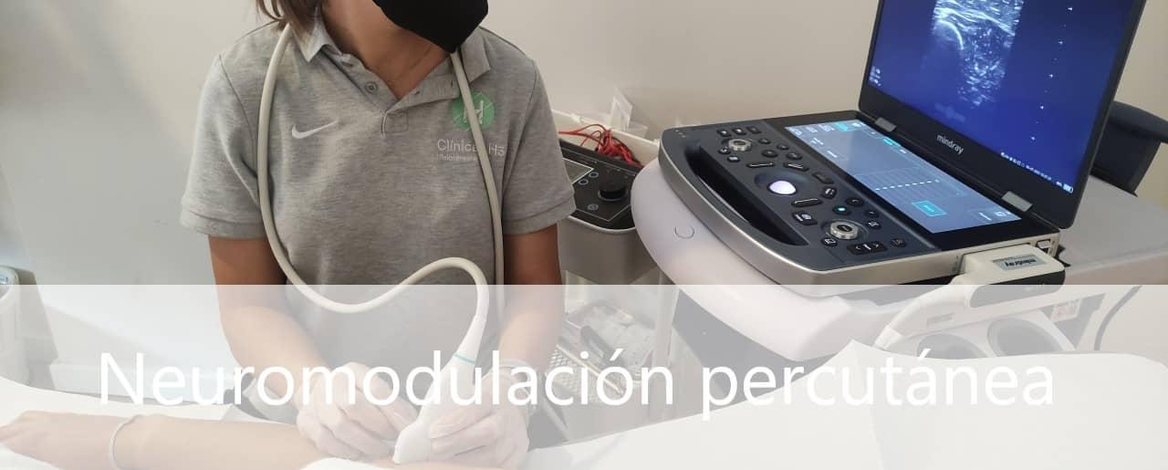 Neuromodulación percutánea ecoguiada precio en Clínicas H3 Madrid