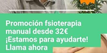 Tu fisioterapeuta Madrid barato desde 32€ - Clínicas H3